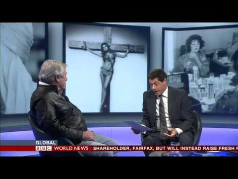 Terry O'Neill Interview with Jon Sopel BBC WORLD NEWS