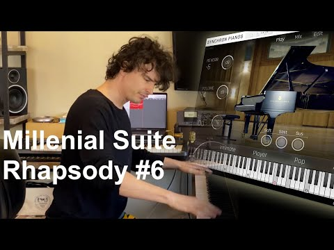 VSL Synchron Pianos: Millenial Suite 6th Rhapsody By Stephen Limbaugh