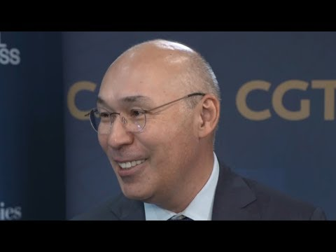 Kairat Kelimbetov talks about the belt and road initiative and how Kazakhstan can benefit from it