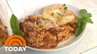 Make Delicious Lasagna Rolls For A Pasta Dish With A Twist | TODAY