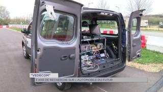 «Vedecom» : 3 ans de recherche sur l'automobile du futur