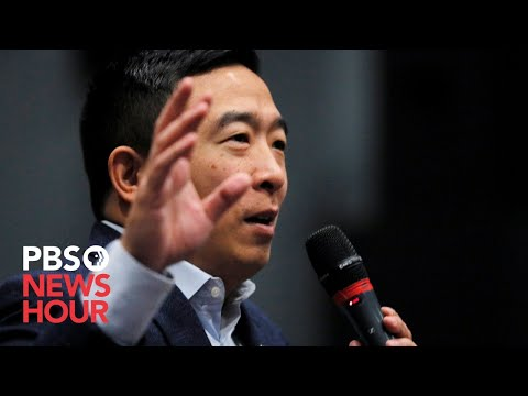 WATCH: 2020 Candidate Andrew Yang Holds Town Hall In Ames, Iowa