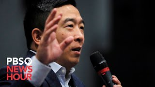 WATCH LIVE: 2020 candidate Andrew Yang holds town hall in Ames, Iowa