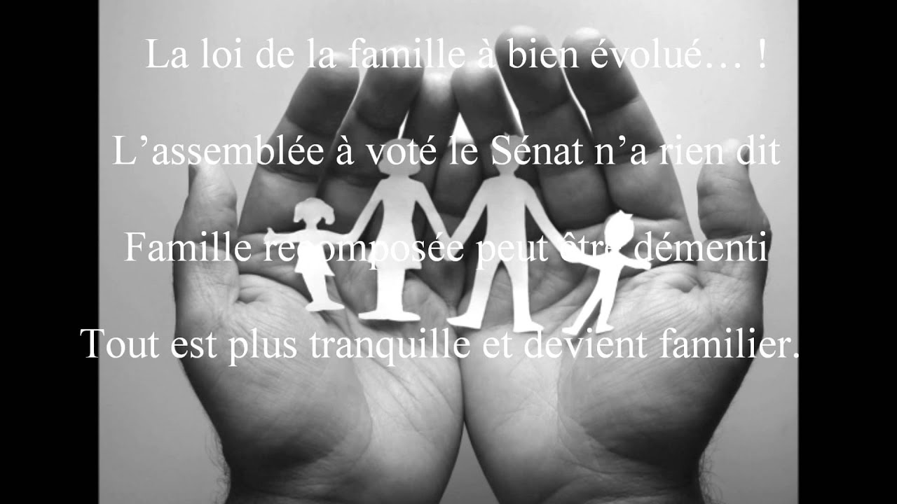 Citation Amour Famille Recomposee