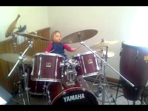 Prettiest little drummer