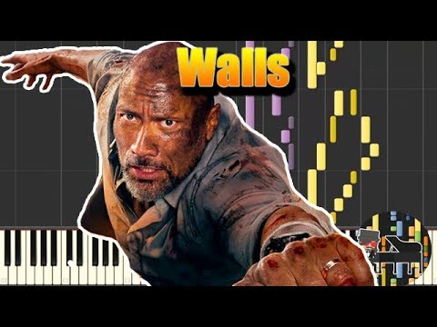 🎵 Walls - Skyscraper [Piano Tutorial] (Synthesia) HD Cover