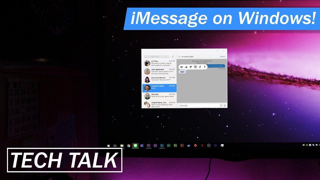 iMessage on Windows PC! PLEASE!? | Tech Talk #2