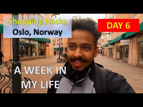 CHEAPEST GROCERY SHOPPING - Day 6   Oslo, Norway