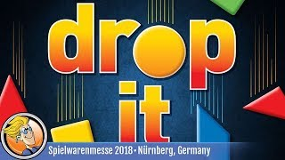 Drop It — game preview at Spielwarenmesse 2018