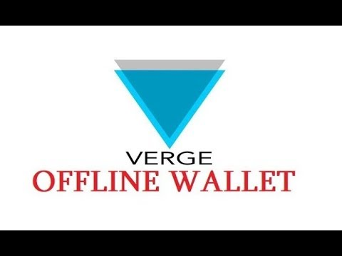 How To make Verge XVG Offline Paper Wallet