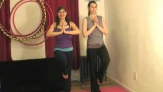 Tree Pose - Partner Yoga with Emily Huber