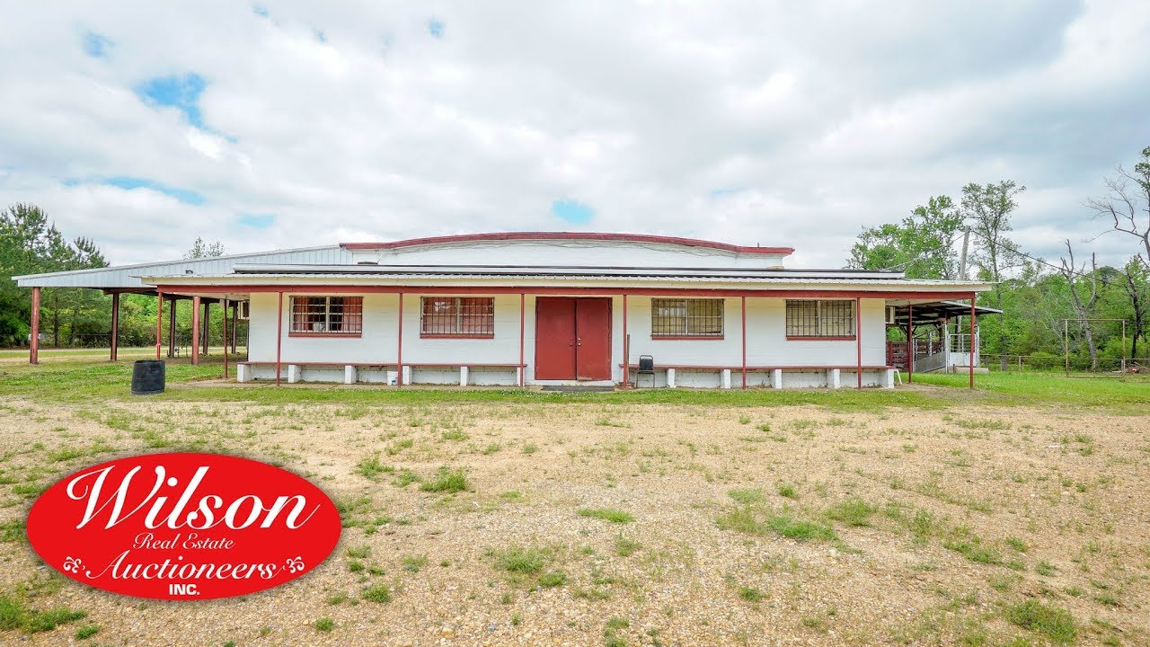 LAFAYETTE COUNTY LIVESTOCK AUCTION/SALE BARN FACILITY ABSOLUTE AUCTION ~  LEWISVILLE, AR