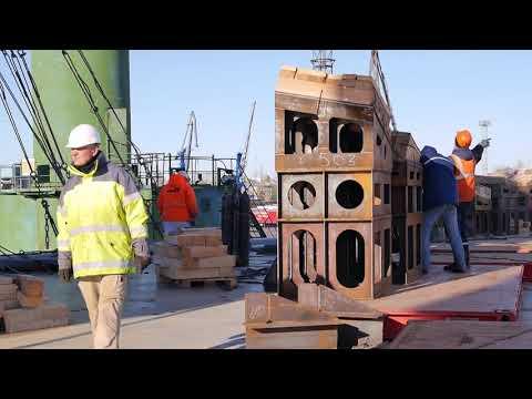 завершена операция по погрузке шести буксиров на борт судна HHL Lagos компании Hansa(Германия)