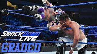 WWE SmackDown Live: GRADED (15 Jan) | Rey Mysterio + Andrade (Cien Almas) = Money