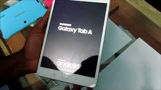 How To Fix Samsung Galaxy Tab A Black Screen | Samsung Tab 2 3 4 A Black screen fix