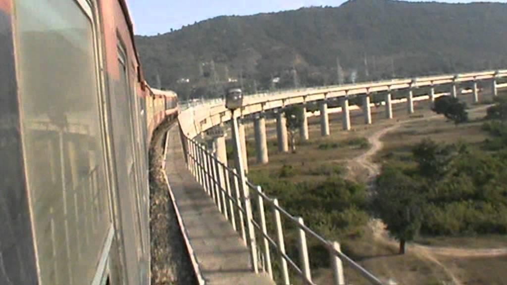 Unforgettable Udhampur Pt 18 Crossing Never Ending Viaduct After Departing Manwal