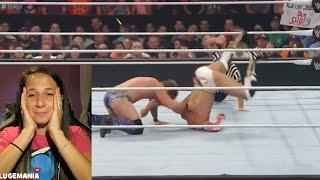 WWE Raw 7/18/16 Zayn Cesaro vs Ko Jericho