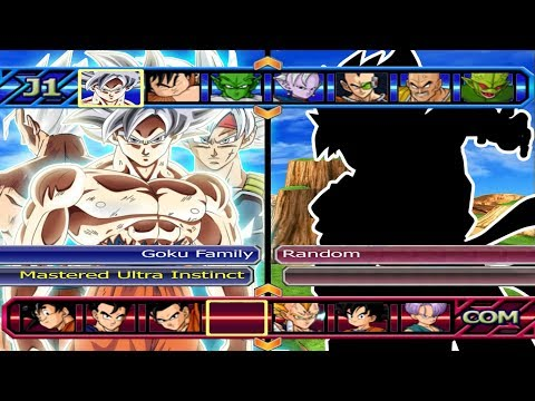 Goku Family Mastered Migatte no Gokui VS Five Random | Dragon Ball Z Budokai Tenkaichi 3