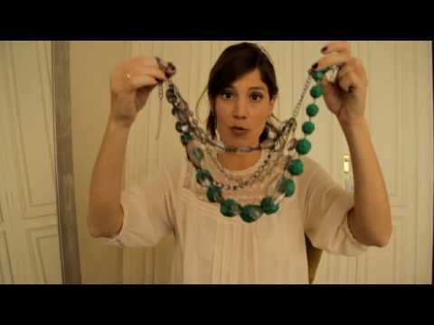 Cómo Combinar Collares 2 How To Combine Necklaces 2 Youtube