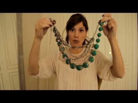 Cómo Combinar Collares 2 How To Combine Necklaces 2 Youtube