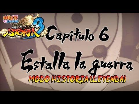 Naruto Shippuden: Ultimate Ninja Storm 3 Walkthrough + Full Burst - Parte 21 |Capitulo 6 Estalla La Guerra Gameplay Español/Japanese 1080p Xbox360/PS3