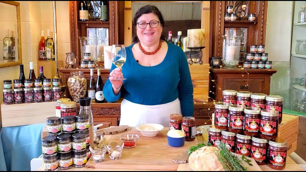Garlic Head Red Pepper Aioli Recipe