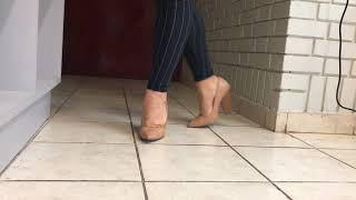 zapatos call it spring nude taco cuadrado