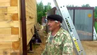 видео Д-1 Дом из бруса 9,7x9,5м