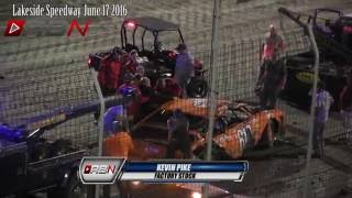 Lakeside Speedway Friday Night Spills
