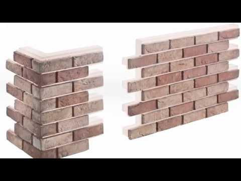 Isolamento termico pareti con mattoni a vista - YouTube