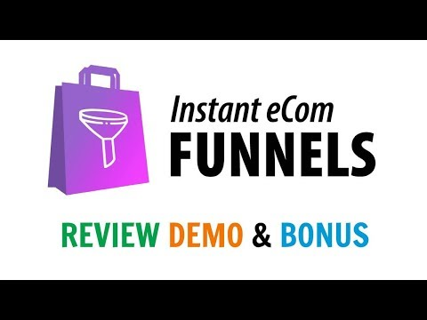 Instant eCom Funnels Review Demo Bonus - Create Highly Targeted eCom Sales Campaigns in Minutes. http://bit.ly/30DPdQ3