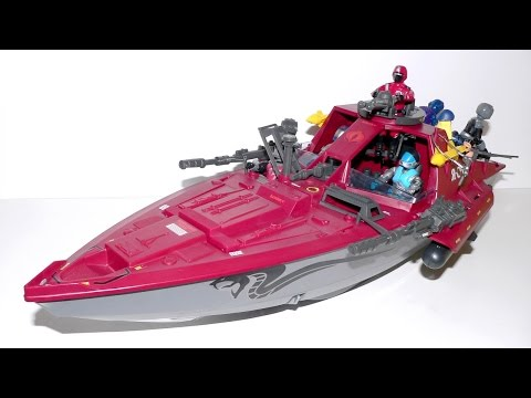 1985 Cobra Moray hydrofoil & Lampreys G.I. Joe review