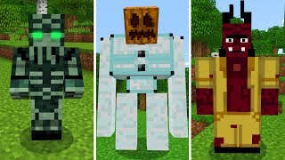 New Mobs in Minecraft Pocket Edition (Story Mode Season 2 Mobs Addon)