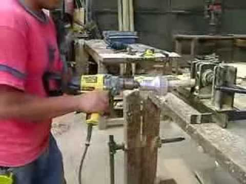 Afilado de troncos para el ensamblaje de muebles de artindustria ...