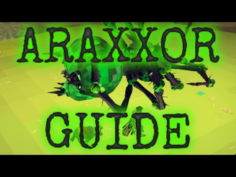 Complete Araxxor Guide: All Phases and Paths [Runescape 2014]