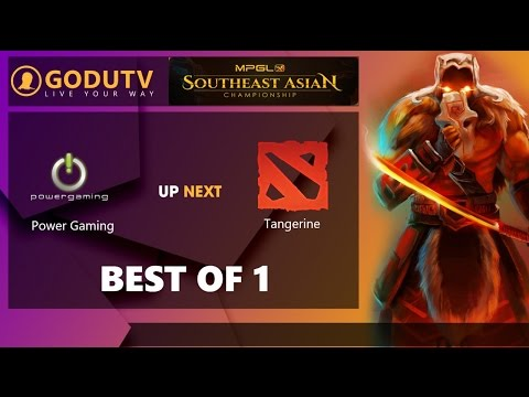 MPGL Southeast Asian Championship - Vietnamese Stream | Power Gaming vs Tangerine | GoduTV.vn