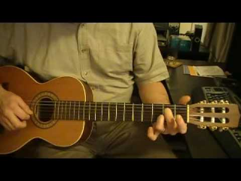 A7 Chord Open Position Fingering 2 Youtube