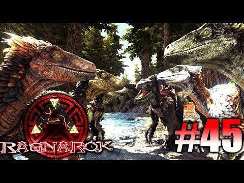 ARK: Ragnarok #45 - Deinonychus Familie zähmen! | LP Ark Deutsch