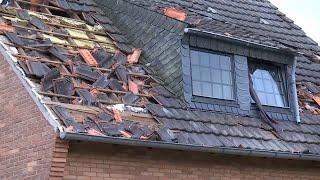 Große Schäden: Der Tornado von Viersen