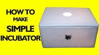 Maison Incubateur || Comment Faire un Oeuf Incubateur || incubateur pour oeufs de poule