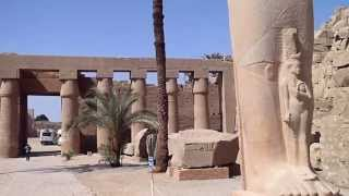 Karnak temple Карнакский храм Luxor Egypt Луксор Египет (HD)(Karnak temple Карнакский храм Luxor Egypt Луксор Египет Camera Olympus Mju Tough-8010., 2010-07-16T12:49:29.000Z)