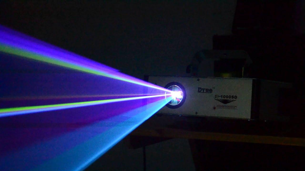 Pro 1000mW(1W) RGB Full Color Animation Laser Projector Stage Lighting DJ & 2014 New! Pro 1000mW(1W) RGB Full Color Animation Laser Projector ... azcodes.com