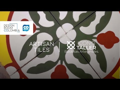 Icono Taller, Artisan Tiles | Design Room Colombia