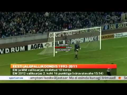 Scotland 3:1 Estonia 1993 (Only Estonia goal)