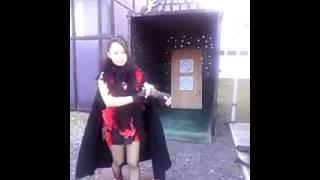 忍者の里で手裏剣2枚打ち 一ノ瀬文香 検索動画 25