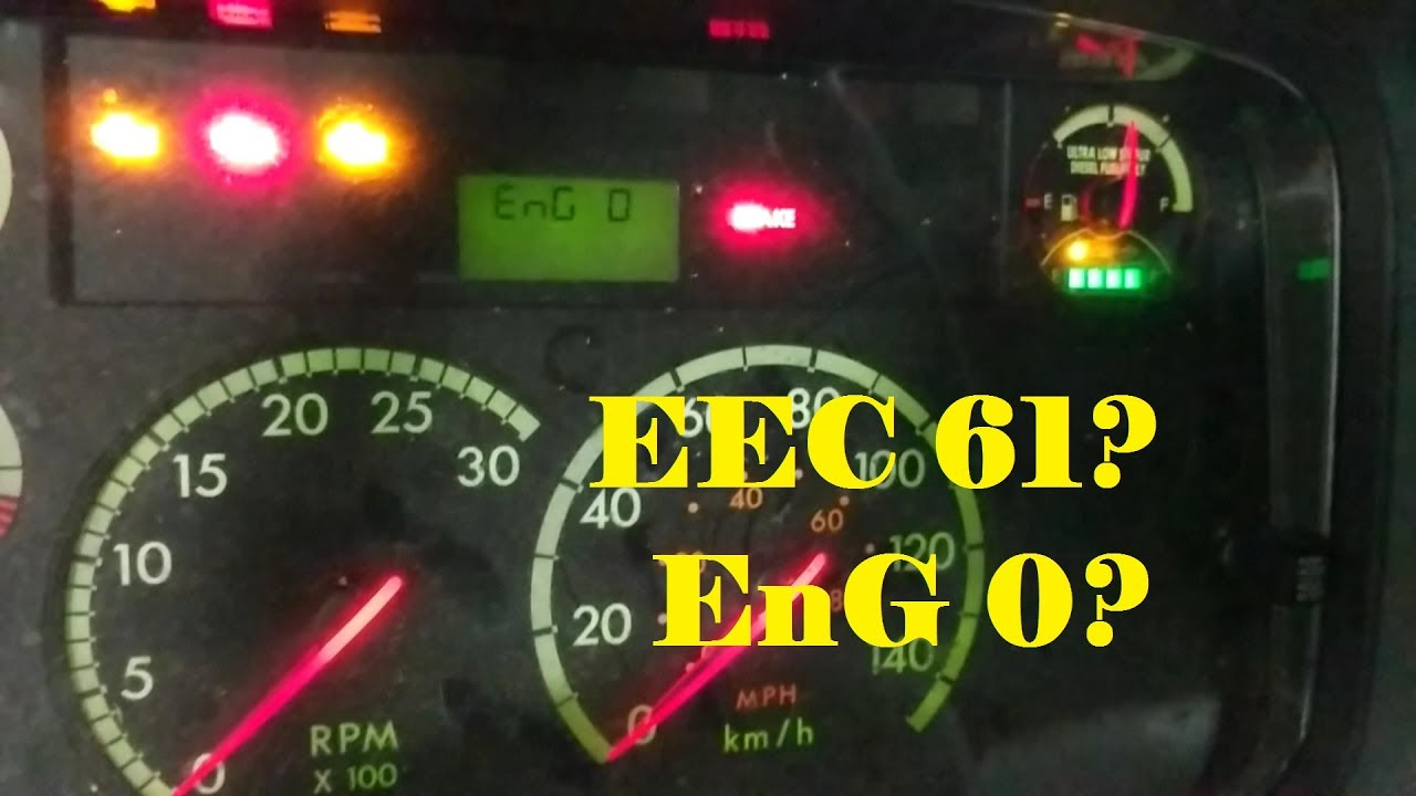 Reading Fault Codes from a Freightliner M2 Dash