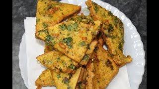 Bread Pakora recipe b AAmna's kitchen