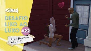 Sims 4 - DESAFIO LIXO AO LUXO NÍVEL HARD #22(da Tia Jú e amigos)