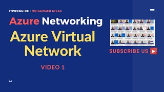 Azure Networking | How to Create Azure Virtual Network vNet | Video 1