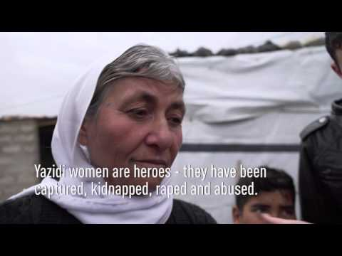 Refugee help for yazidi refugees in Iraqi Kurdistan